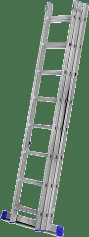 Escada extensiva para aluguel